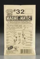 Kadee 30 Series Magne-Matic Med Overset Shank 9/32 HO Scale Model Train Coupler #32