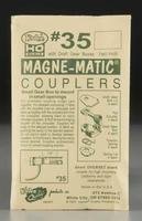 Kadee 30 Series Magne-Matic Couplers - Short (1/4) Overset Shank HO Scale Model Train Coupler #35
