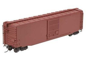 Kadee 50 Pullman-Standard PS-1 Boxcar with 9 Youngstown Door Undecorated HO Scale #4105