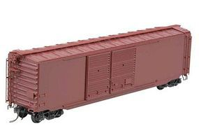 Kadee 50 Pullman-Standard PS-1 Boxcar with Double 15 Youngstown Door Undecorated HO Scale #4110