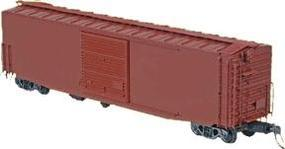 Kadee 50 Pullman-Standard PS-1 Boxcar with 10 Youngstown Door Undecorated HO Scale #4115
