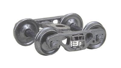 Kadee Quality Products S2 70 Ton Roller Bearing Trucks Standard 1 Pair -- HO Scale Model Train Truck -- #518