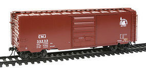 Kadee Pullman-Standard PS-1 40 Boxcar Central New Jersey #23523 HO Scale Model Train Car #5317