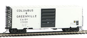 Kadee Pullman-Standard PS-1 40 Boxcar Columbus & Greenville #170408 HO Scale Model Train Car #5319
