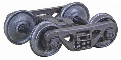 Kadee ACL Barber(R) S-2 70-Ton Roller Bearing 33Smoothback Wheels HO Scale Model Train Truck #560