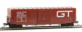Kadee 50 PS-1 Boxcar Grand Trunk Western #309147 HO Scale Model Railroad #6383