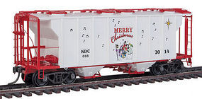 Kadee Kadee 2014 Christmas Car HO Scale Model Train Freight Car #6918