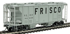 Kadee PS-2 2-Bay Hopper St. Louis-San Francisco #84036 HO Scale Model Train Freight Car #8042