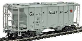 Kadee PS-2 2-Bay Covered Hopper Great Northern #71482 HO Scale Model Railroad #8043