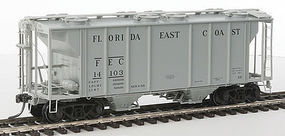 Kadee PS-2 Hopper FEC #14103 HO Scale Model Train Freight Car #8652