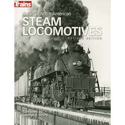 Kalmbach Steam Locomotives -- Model Railroad Book -- #01302