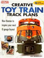 Kalmbach Creative Toy Train Track Plans Model Railroad Book #10-8350