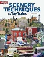 Kalmbach Scenery Techniques for Toy Trains Model Railroad Book #10-8400