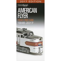 Kalmbach American Flyer Pocket Price Guide 1946-2017 Model Railroad Book #10-8617