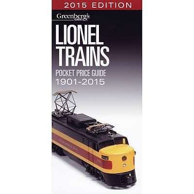 Kalmbach Lionel Trains Pocket Price Guide 1901-2015 -- Model Railroad Book -- #10-8715