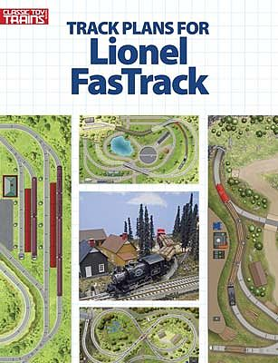 Kalmbach Track Plans for Lionel FasTrack -- Model Railroad Book -- #10-8804