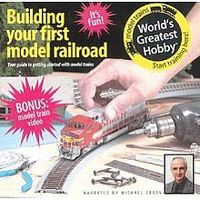 Kalmbach Building your First Model Railroad with DVD Model Railroading Book #10003