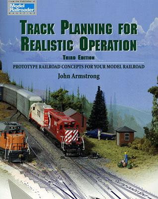 Kalmbach Track Planning for Realistic Operation Model Railroad Book #12148