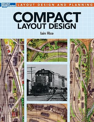 Kalmbach Compact Layout Design -- Model Railroad Book -- #12487