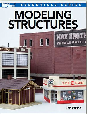 Kalmbach Modeling Structures -- Model Railroad Book -- #12493