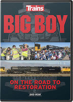 Kalmbach Big Boy On The Road To Restoration DVD Hobby Model DVD Video Tape General #15109