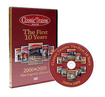 Kalmbach Classic Trains The First 10yrs Model Railroading DVD #15110