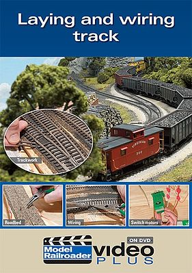 Kalmbach Laying Track and Wiring DVD -- Model Railroading DVD -- #15303