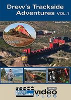 Kalmbach Drews Trackside Adventure DVD Model Railroading DVD #15308