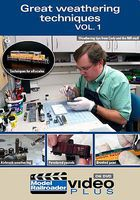 Kalmbach Great Weathering Technique DVD Model Railroading DVD #15323