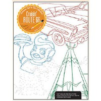 Kalmbach CRUISIN ROUTE 66 Coloring Book
