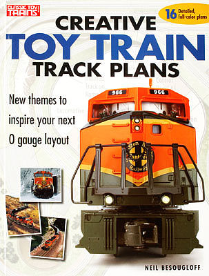 Kalmbach Creative Toy Train Track Plans -- Model Railroad Book -- #8350