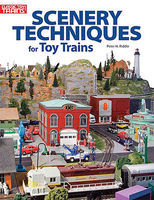 Kalmbach-Publishing Scenery Tech Toy Trains Model Railroading Book #108400
