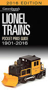 Kalmbach 2016 Lionel Pocket Guide Model Railroading Catalog #108716