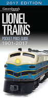 Kalmbach-Publishing Lionel Trains Pocket Price Guide 1901-2017 Model Railroading Catalog #108717