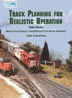 Kalmbach-Publishing Track Planning for Realistic Operation Third Edition Model Railroading Book #12148