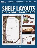 Kalmbach-Publishing Shelf Layouts for Model Railroads How-To Guide Model Railroading Book #12419