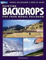 Kalmbach-Publishing Painting Backdrops for Your Model Railroad Model Railroading How To Book #12425