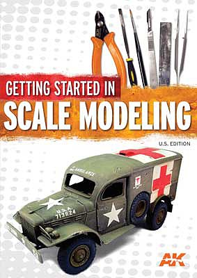 Kalmbach-Publishing Getting Started in Scale Modeling U.S. Edition, Softcover, 136 Pages