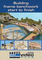 Kalmbach Building Frame Railroad BenchWork DVD Model Railroading Video #15300