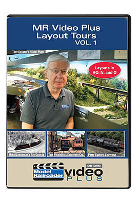 Kalmbach Publishing Model Railroader Video Plus Layout Tours -- Volume 1, 1 Hour, 13 Minutes