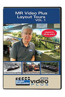 Kalmbach Model Railroader Video Plus Layout Tours Volume 1, 1 Hour, 13 Minutes