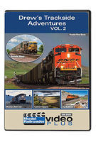 Kalmbach Drews Trackside Adventures - Model Railroader Video Plus Volume 2, 1 Hour, 12 Minutes