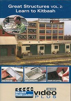Kalmbach Model Railroader Video Plus DVD Great Structures Volume 2-Learn to Kitbash