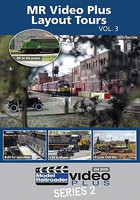 Kalmbach MR Video Plus Layout Tours Vol. 3 DVD 1 Hour, 13 Minutes