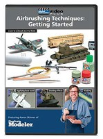 Kalmbach-Publishing Airbrushing Technique- Getting Started DVD