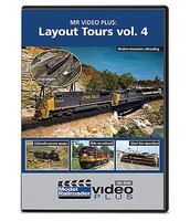 Kalmbach-Publishing Layout Tours Model Railroader Video Plus DVD Volume 4, 1 hour 15 minutes