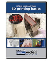 Kalmbach-Publishing Model Railroad Tech- 3D Printing Basics Model Railroader Video Plus DVD 1 hour 13 minutes