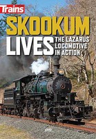 Kalmbach-Publishing Skookum Lives DVD The Lazarus Locomotive in Action, 65 Minutes