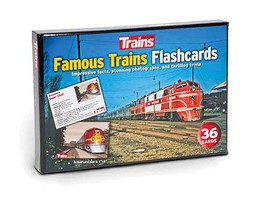 Kalmbach-Publishing Famous Trns Flashcard 36/