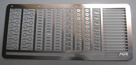 KAModels 1/24 Hood Pin Set (Photo-Etch)